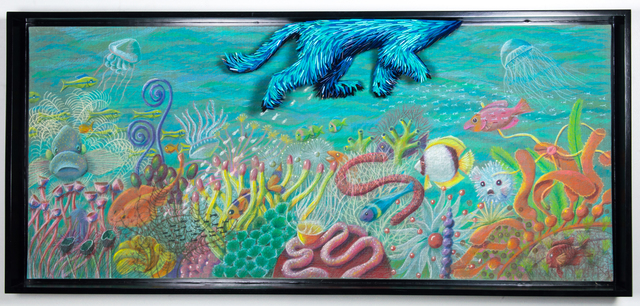 , 'Dog Swimming in Reef,' 2017, Adelson Galleries