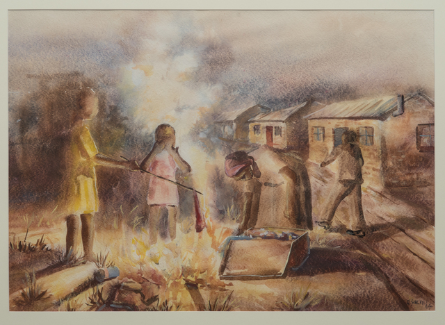 , 'Burning Refuse,' 1964, Gallery MOMO