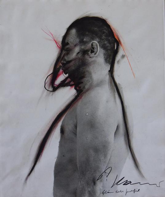 , 'Face Farce 10: … Profil,' ca. 1970, Galerie Brigitte Schenk