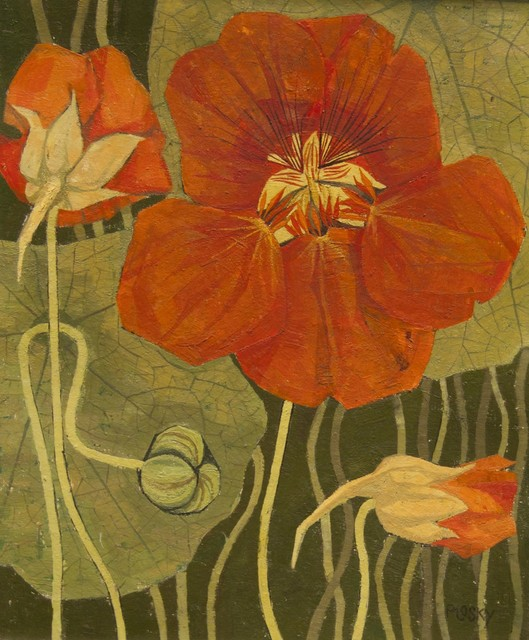 , 'Nasturtiums,' , Robert Eagle Fine Art