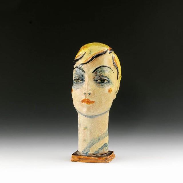 , 'Female Head,' 1928, Galerie Bei Der Albertina Zetter