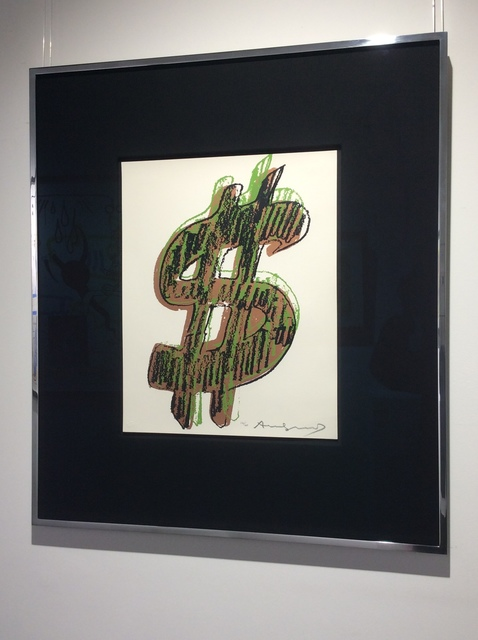 Andy Warhol, '$ (1) (F&S IIA.274-279) UNIQUE', 1982, Print, Screenprint on Lenox Museum Board, Joseph Fine Art LONDON