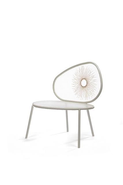 Humberto and Fernando Campana, 'Racket Chair (Tennis)', 2013, Design/Decorative Art, Woven nylon and brass, Friedman Benda