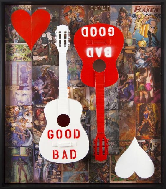 Bernie Taupin, 'Snow White's Guitars', 2019, Bill Lowe Gallery