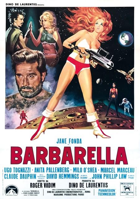 Mario De Berardinis (Mos), 'BARBARELLA', 1968, Cambi