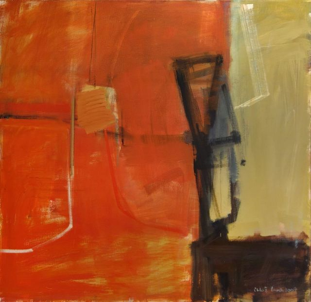 , 'Red and Mustard,' 2009, Hollis Taggart Galleries