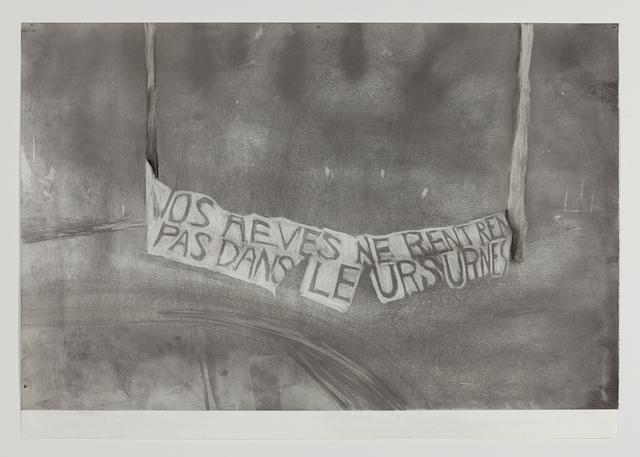 , 'Paris (nos/vos),' 2017, Kristof De Clercq