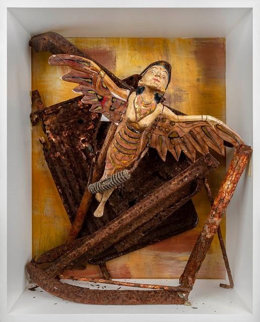, 'Bali angel on rust,' 2019, Van Bavink Gallery