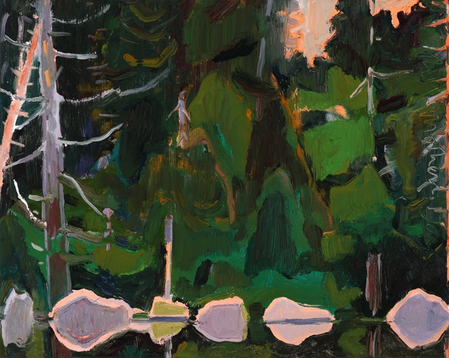 , 'Small Lake Edge,' 2019, Tayloe Piggott Gallery