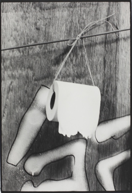 , 'Toilet Paper, Nihon University, College of Art (Barricade series),' 1968, MIYAKO YOSHINAGA