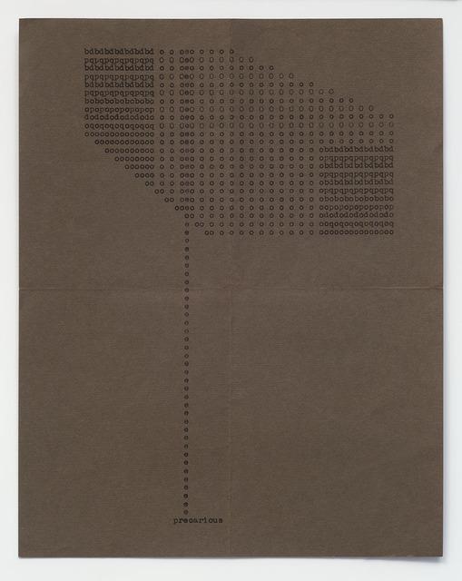 Ruth Wolf-Rehfeldt, 'Precarious', c. 1970, Richard Saltoun