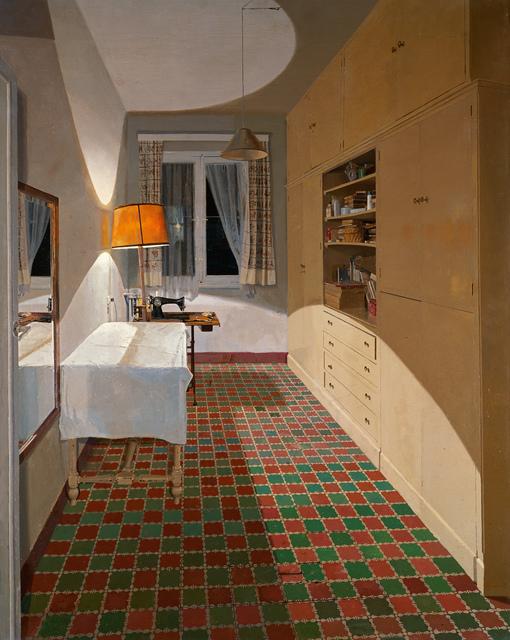, 'Habitación de Costura (Sewing Room),' 1974, Museo Thyssen-Bornemisza