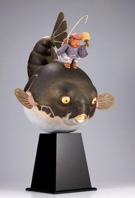 , 'Ebisu-doji Oofuguwo-tsuru / 恵比須童子 大富久を釣る,' 2011, Y's Gallery