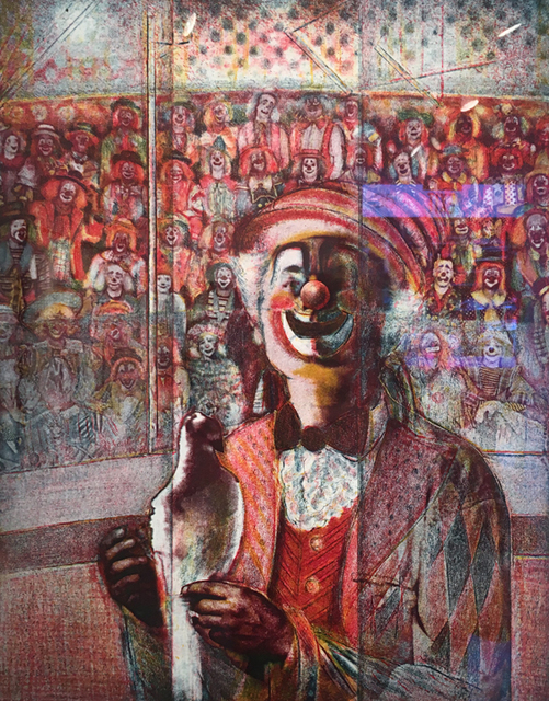 , 'Clown with Pigeon,' , Aicon Gallery