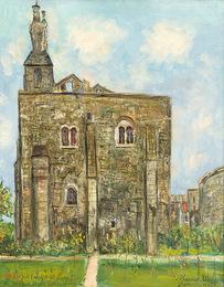 Le Chateau et la vierge noire a Montbazon (indre-et-Loire)