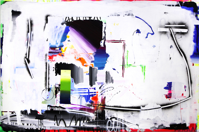 , 'Residual painting,' 2016, Luis Adelantado