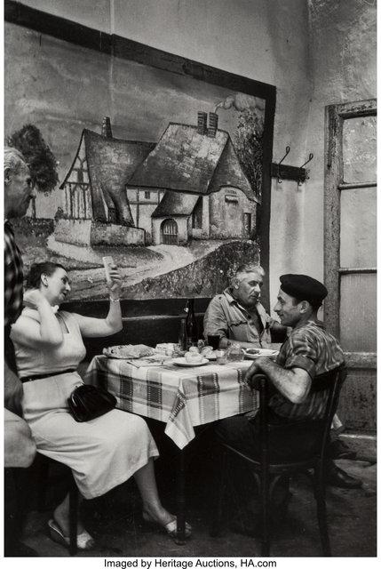 Mario De Biasi, 'Trattoria le Pergola', 1949-printed later, Heritage Auctions