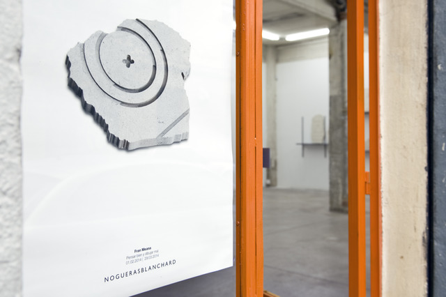 ", 'View of the entrance to the exhibition ""Reasoning well with badly drawn figures"" by Fran Meana, installation view at NoguerasBlanchard, Madrid,' 2014, Nogueras Blanchard"