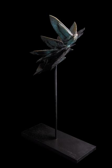 , 'Swallow in Flight ,' 2018, EBONY/CURATED
