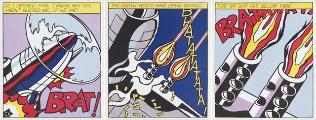 Roy Lichtenstein, 'As I Opened Fire', 2000, Rago