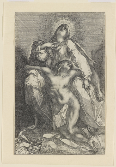 , 'Pieta,' 1615, Bowdoin College Museum of Art