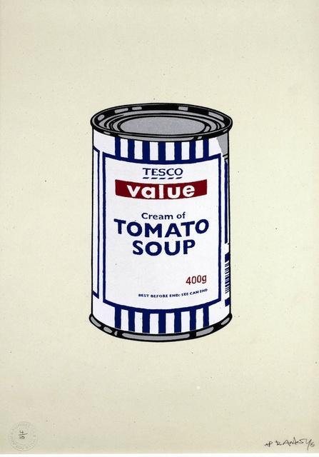 Banksy, 'SOUP CAN ORIGINAL (ARTIST'S PROOF)', 2005, Artificial Gallery