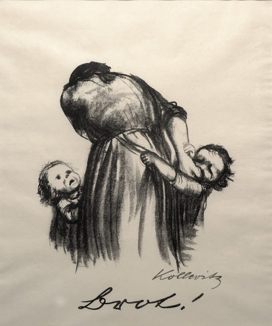 Käthe Kollwitz, 'Bread from War', 1924, Print, Lithograph, Dallas Museum of Art