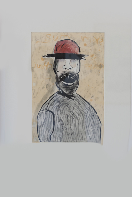 Colbert Mashile, 'Father of the Bride (Colour Trial Proof)', 2011, Print, Drypoint and spitbite aquatint, David Krut Projects