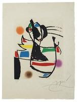 Joan Miró, Le Marteau sans maître: one plate (Dupin 954)