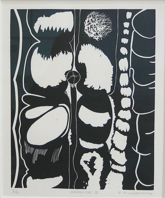 , 'Sapphire 3,' 1991, FitzGerald Fine Arts
