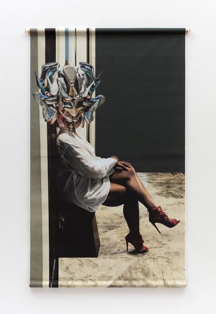 Willie Cole, 'Head over Heels (Snake Charmer)', 2019, Alexander and Bonin
