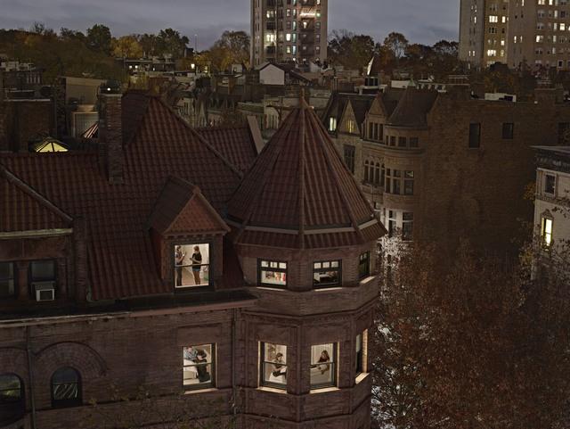 , 'Chiclet Mansion, Park Slope, New York,' 2017, Edwynn Houk Gallery