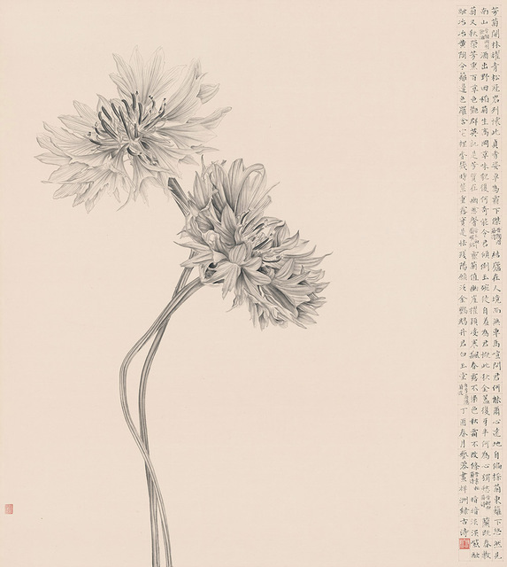 , 'A Person as Ethereal as Chrysanthemums 人淡如菊,' 2017, Alisan Fine Arts
