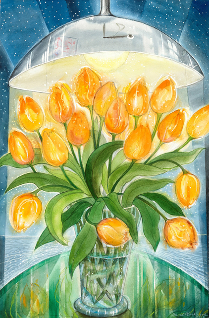 , 'March Tulips at Bruton Street,' 2018, Winchester Galleries