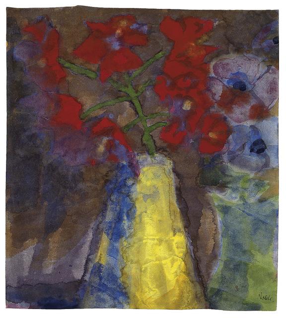 , 'Rote Rispe,' ca. 1925, Galerie Utermann