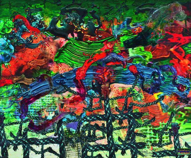 , 'Predator Remix #1,' 2000, Elgiz Museum