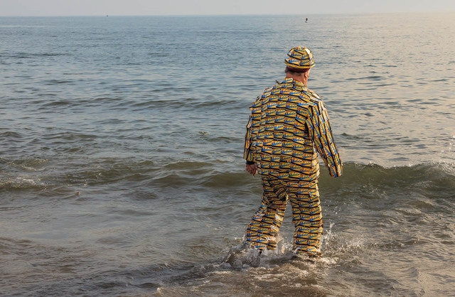 , 'MTA Man, Coney Island Polar Bear Swim,' , Soho Photo Gallery