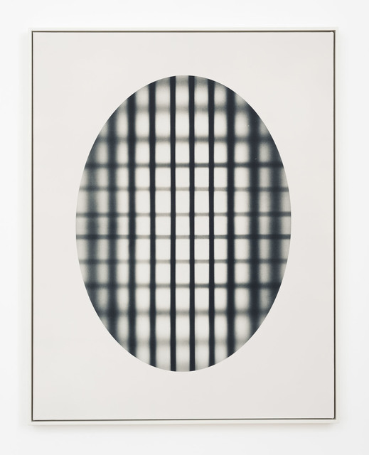 , 'Oval With Grid (black),' 2017, DOCUMENT