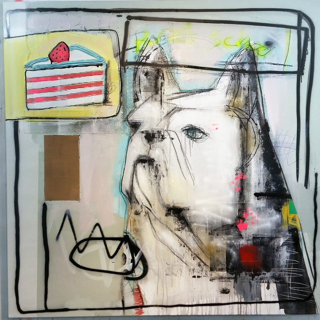 , 'Brick School,' 2017, Galerie LeRoyer