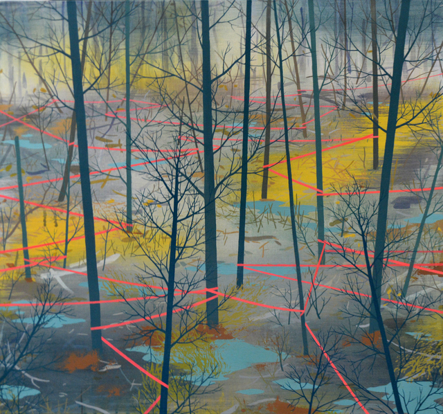 , 'Delineated Woodland,' , The Bonfoey Gallery