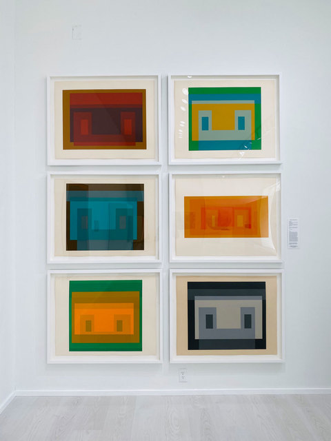 Josef Albers, 'Six Variants', 1969, Robert Fontaine Gallery