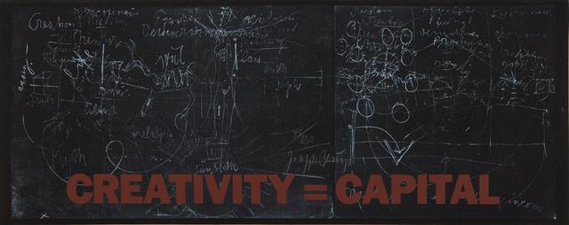 Joseph Beuys, 'New York Subway Poster (Creativity=Capital)', 1983, Phillips