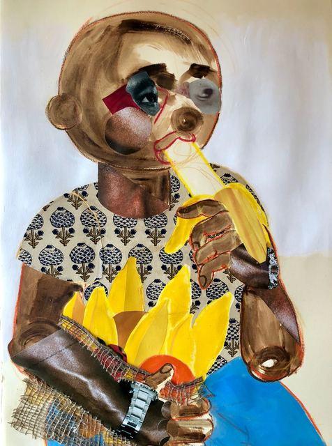 , ' How To Eat a Banana,' 2018, Mariane Ibrahim Gallery