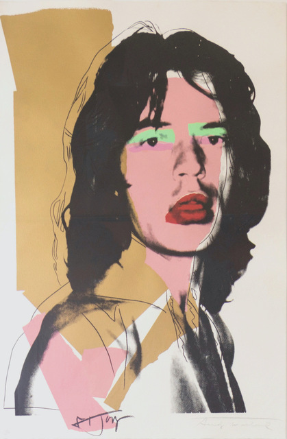 Andy Warhol, 'Mick Jagger (FS II.143) ', 1975, Print, Screenprint on Arches Aquarelle (rough) Paper, Revolver Gallery