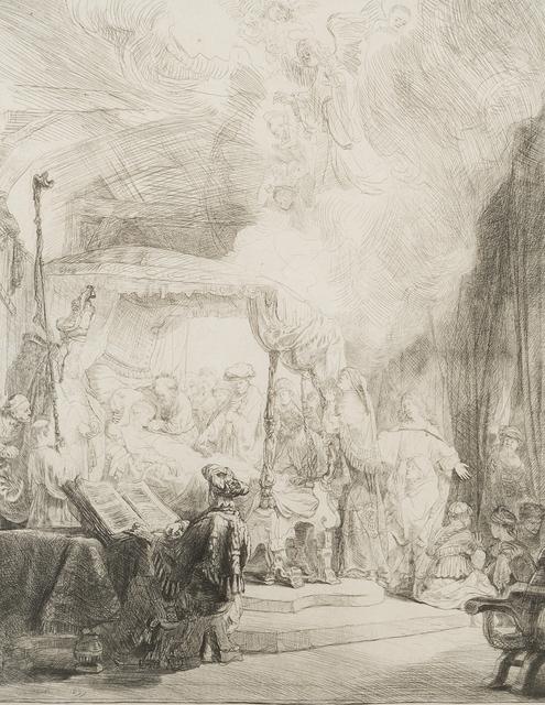 Rembrandt van Rijn, 'Death of the Virgin', 1639, John Moran Auctioneers