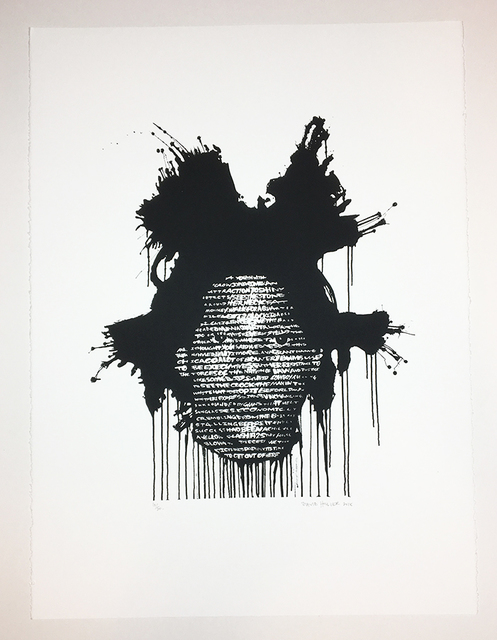 David Hollier, 'Basquiat ', 2018, New Apostle Gallery