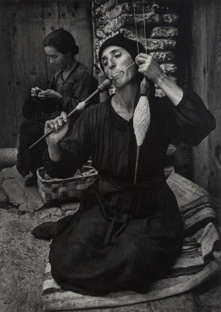 W. Eugene Smith, 'The Spinner, Spanish Village', 1951, Doyle