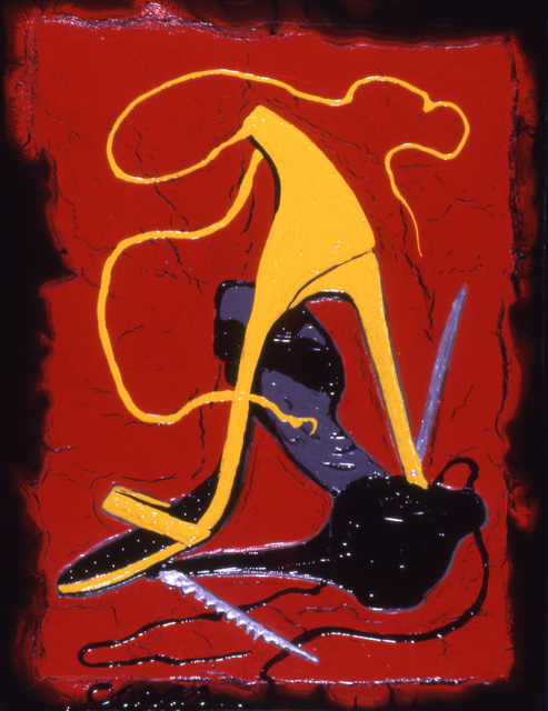 , 'Stilleto Confrontation,' 2006, Ruiz-Healy Art