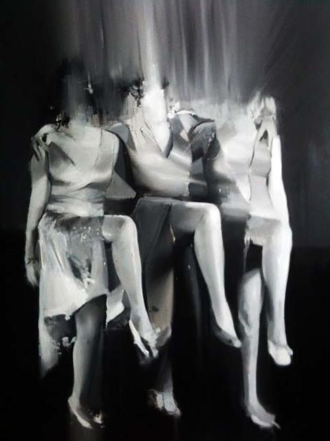 , 'The Dancers,' 2015, GALERIE BENJAMIN ECK