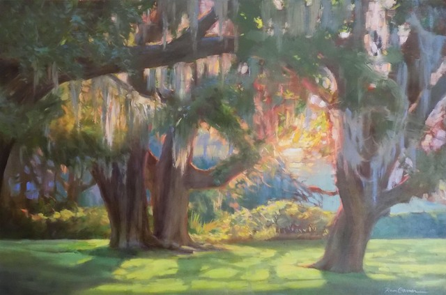 , 'A Southern Garden,' 2018, Anderson Fine Art Gallery